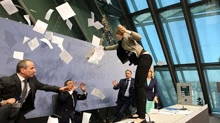 Mario Draghi's ECB News Conference in Two Minutes
