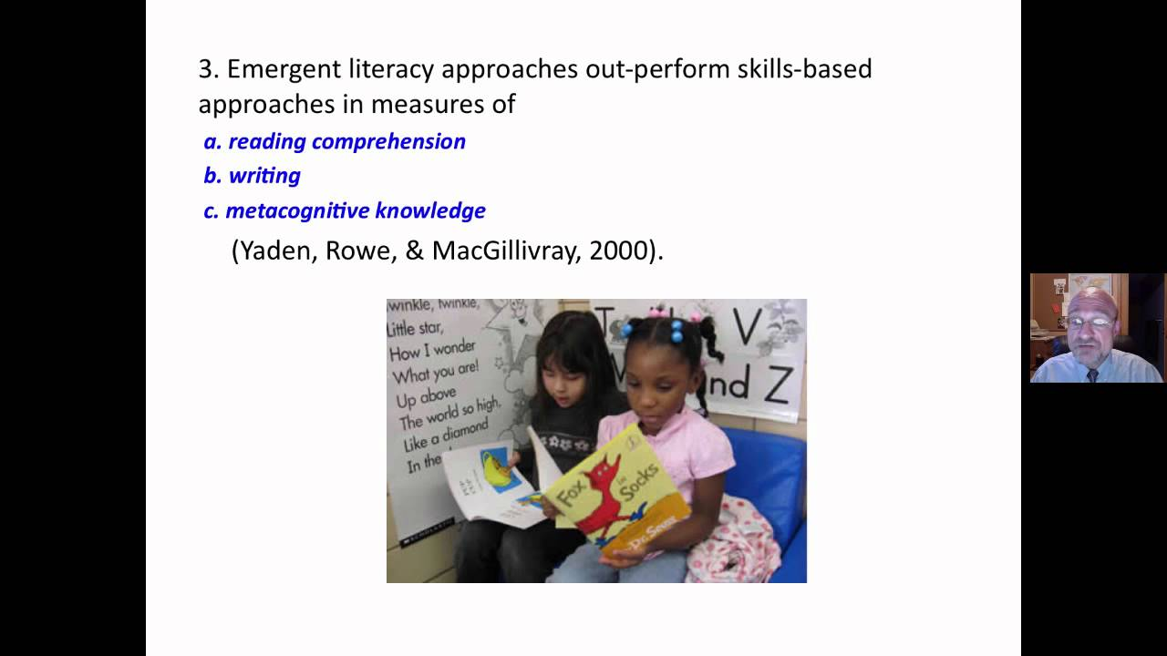 emergent literacy skills Students need better media literacy skills a recent research report from  stanford university reveals serious shortcomings in students' abilities.
