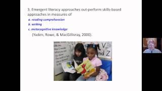Emergent Literacy vs. Reading Readiness