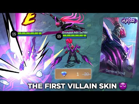 ALPHA GENERAL ABYSS  👏 SKIN REVIEW 👏 the ENEMY OF THE HERO SQUAD?!