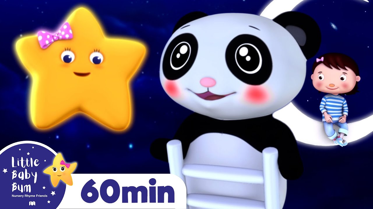 Starlight Star Bright +More Nursery Rhymes and Kids Songs | Little Baby Bum