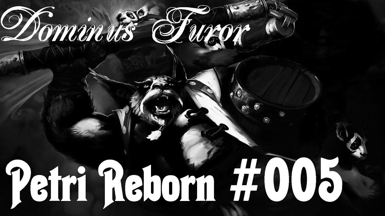 Dota 2 Reborn Petri Reborn | Игра с подписчиками | #018