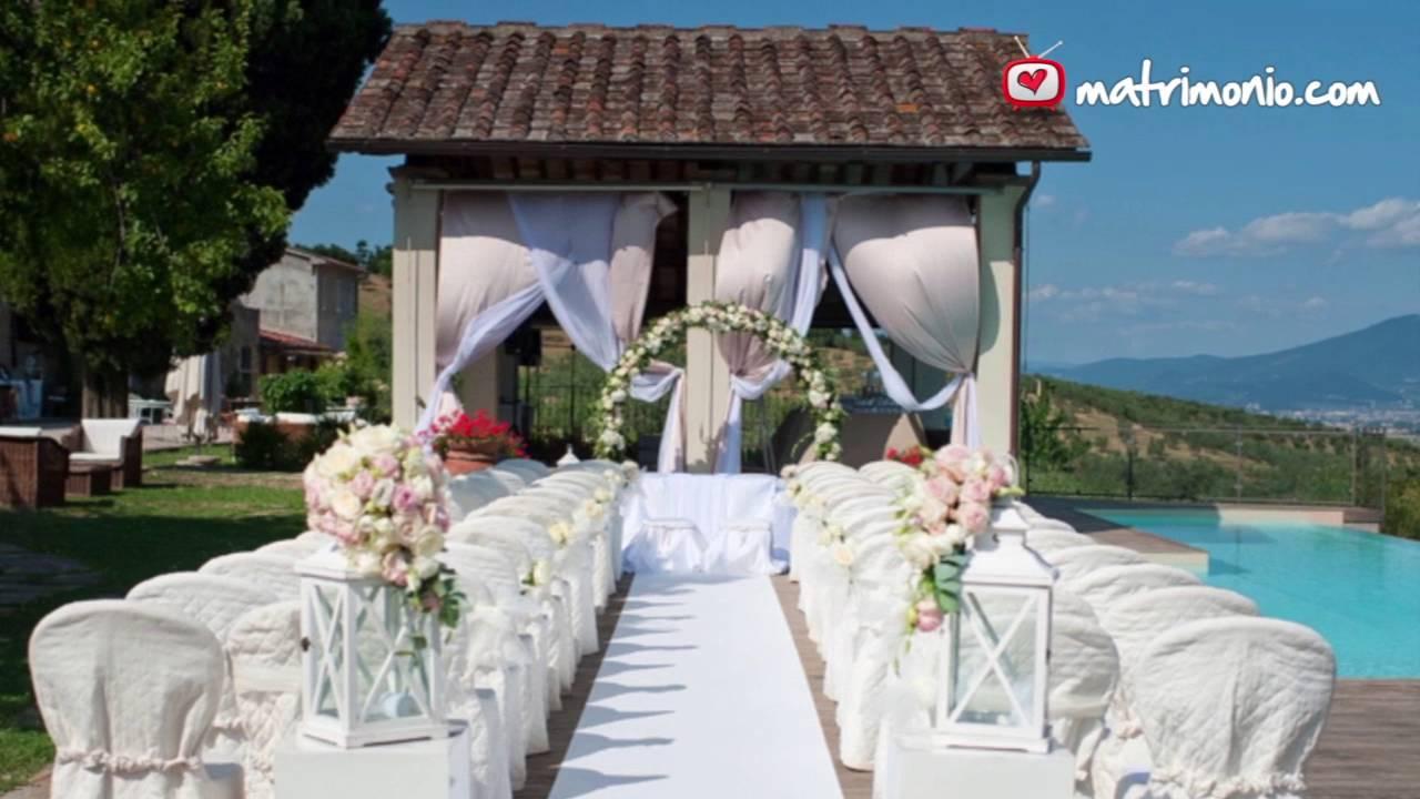 Matrimonio Serra Toscana : Fattoria la serra youtube