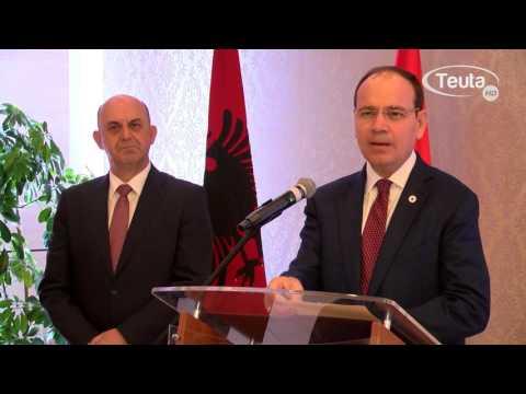 Presidenti i Shqiperise Bujar Nishani ne Ulqin HD