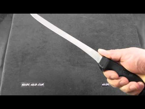 """CA363 Case Fillet Knife With Sheath 9"""" Blade"""