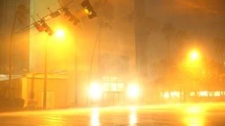 Hurricane Matthew Batters Florida - Melbourne/Cape Canaveral 10.07.2016