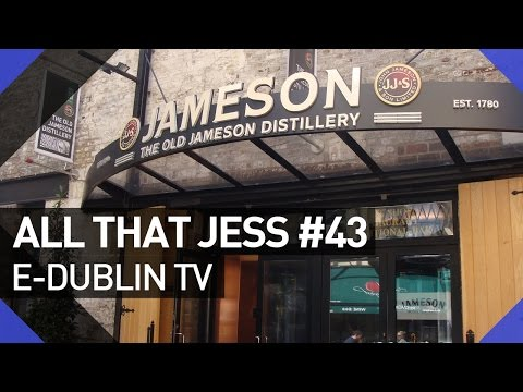 Conheça a Destilaria Jameson em Dublin (Jameson Distillery Tour) - All That Jess#43