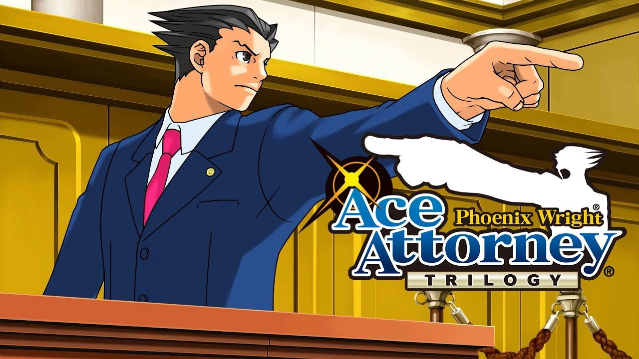 Phoenix Wright Ace Attorney Trilogy Launch Trailer Youtube
