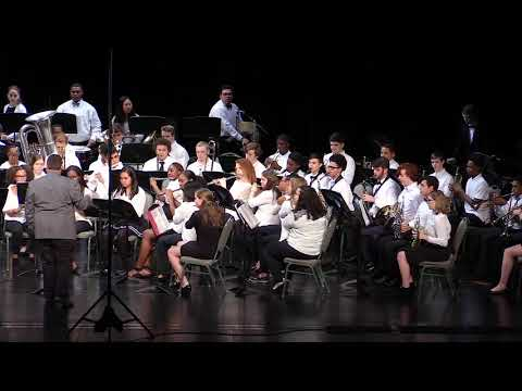 Clinton HS Band - The Great Locomotive Chase - Robert W  Smith