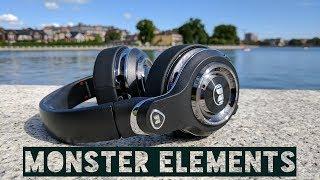 Обзор наушников MONSTER ELEMENTS WIRELESS OVER-EAR. Большие, дорогие, флагманские...
