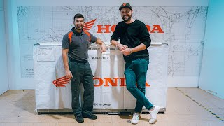 2020 Honda Africa Twin 1100 | UNBOXING Brand New Motorcycle
