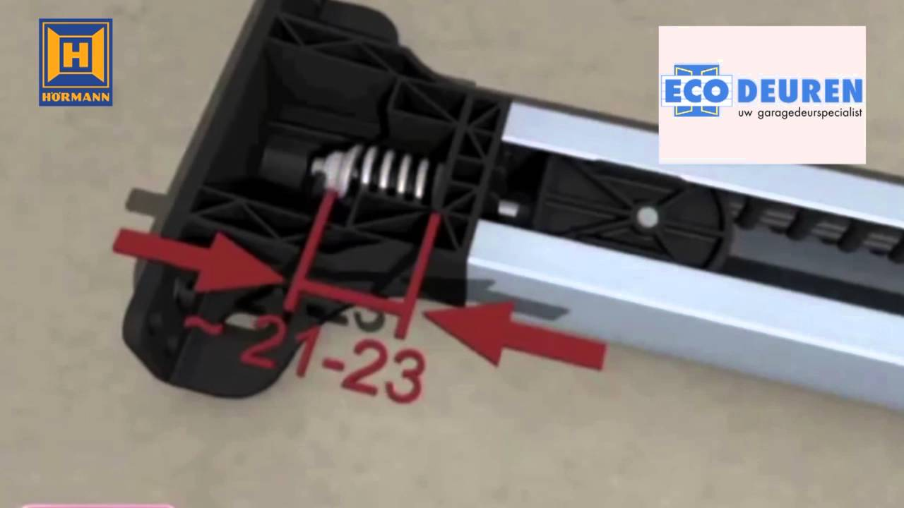 Hormann Ecostar Liftronic 500 Monteren Youtube