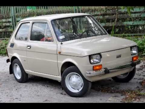 Polski Fiat 126p 1979 r.  remont  YouTube