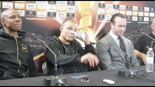 GEORGE GROVES v CHRIS EUBANK JR - *FULL & UNCUT* POST-FIGHT PRESS CONFERENCE / GROVES-EUBANK JR