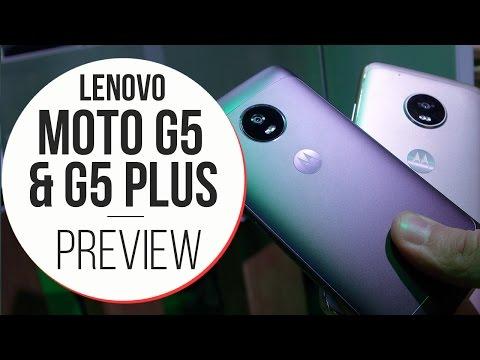 Anteprima Moto G5 & G5 Plus - MWC 2017