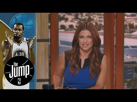 Kevin Durant publicly addresses tweets and critics for first time | The Jump | ESPN