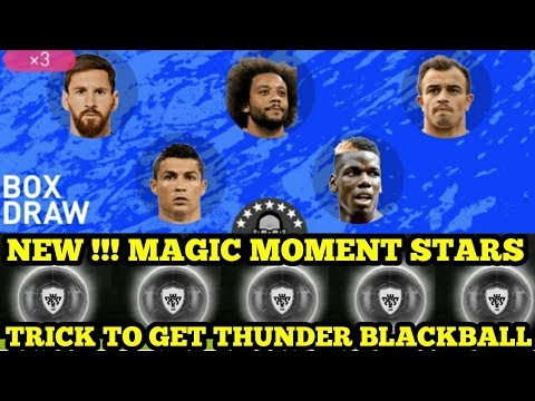 NEW  MAGIC MOMENT STARS BOX DRAW  TRICK BLACKBALL PETIR
