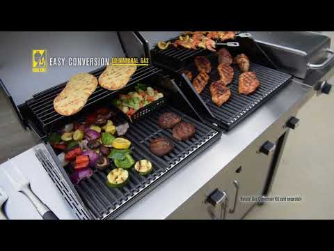 Enders Gasgrill Kansas 4 Sik Profi Turbo Test : Enders kansas pro sik profi turbo youtube