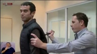 Reporter Actually Gets Stabbed on TV While Testing 'Knife-Proof' Vest