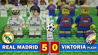 Download Video Real Madrid 5 - 0 Viktoria Plzeñ - Champions League 2018 - Resumen y goles - Fútbol LEGO MP3 3GP MP4