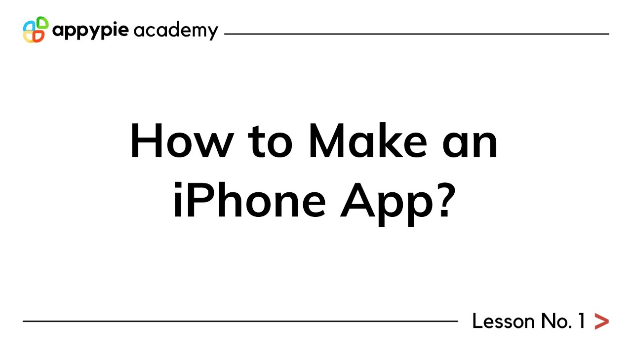 create app for iphone free online