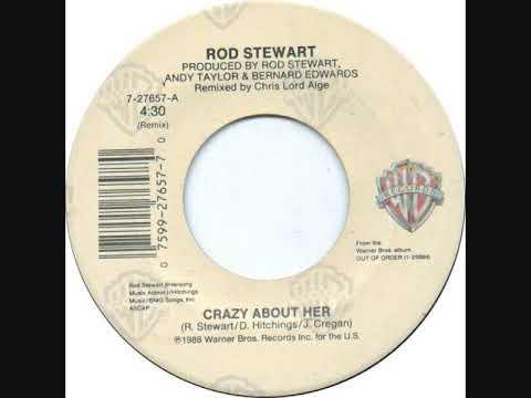 ROD STEWART * Crazy About Her  1988   HQ