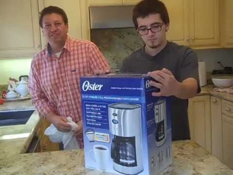 Oster Coffee Maker Stopped Working : Oster Coffee Maker Review 12-cup with Reuseable Filter Model BVST-RDXSS43 - YouTube
