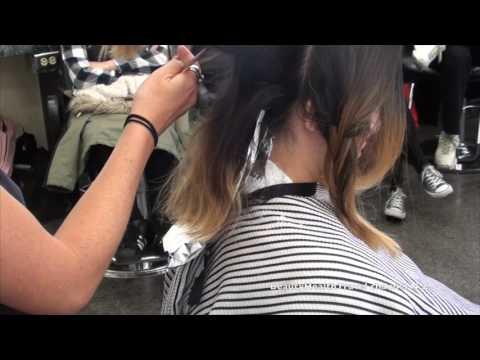 Haircolor; ombre, retouch, weave, tease, balayage