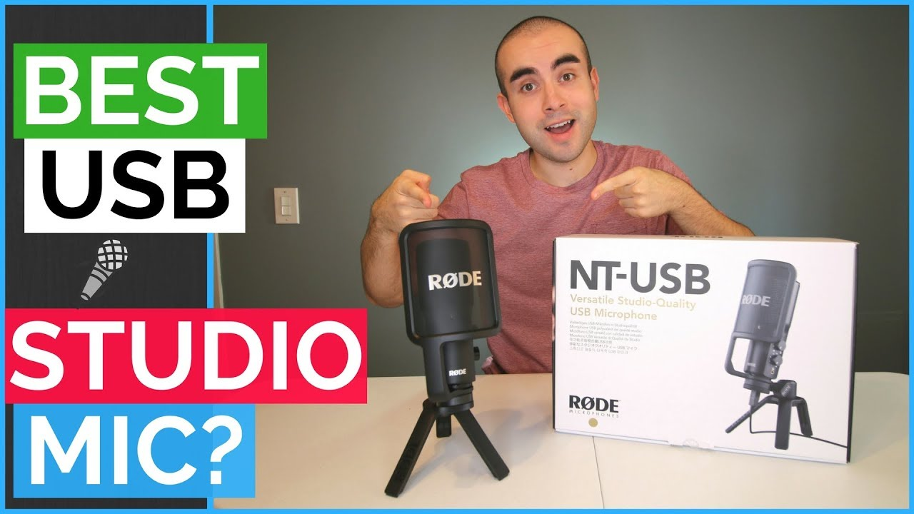 rode nt usb microphone review best usb microphone under 200 youtube. Black Bedroom Furniture Sets. Home Design Ideas