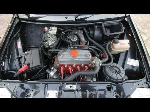 1989 MG Metro Turbo Engine Idle (choke Partially Open)