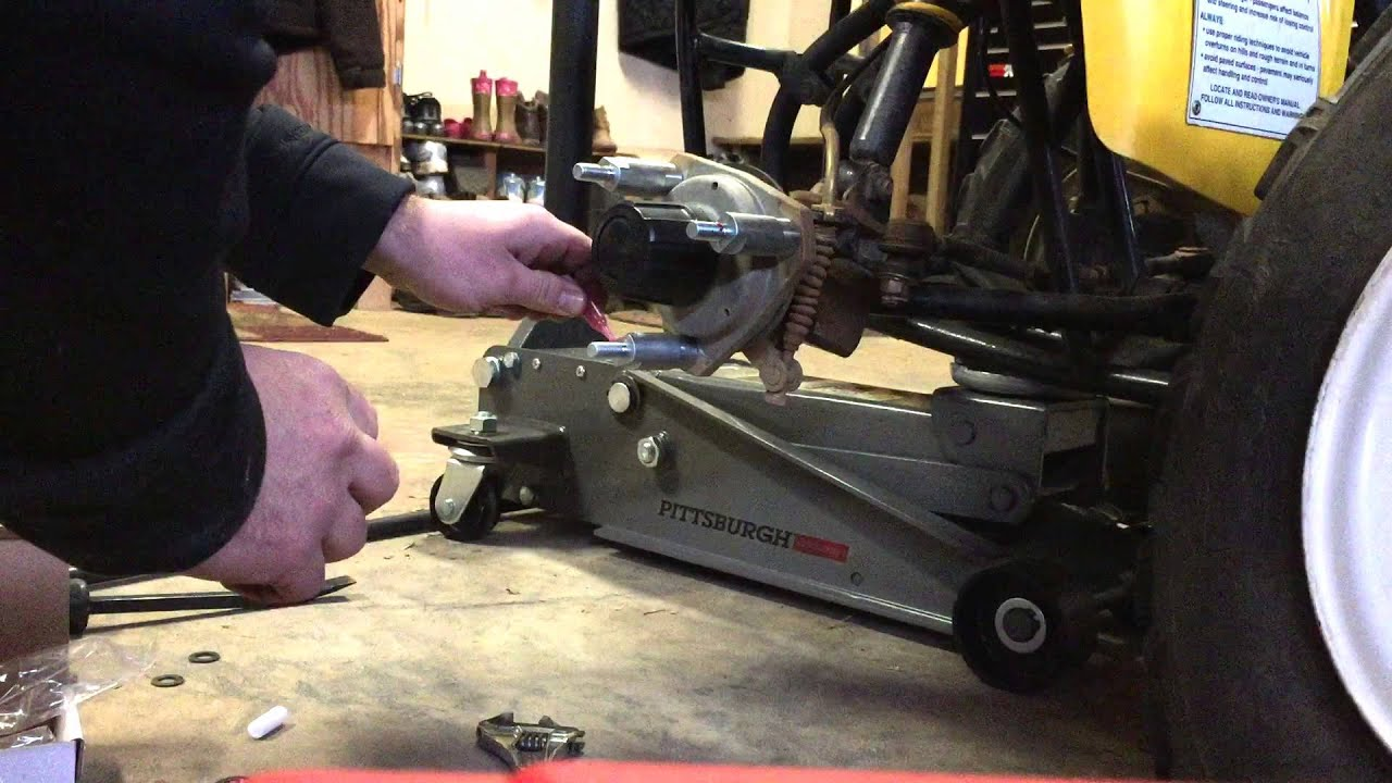 How to install wheel spacers on a atv or fourwheeler