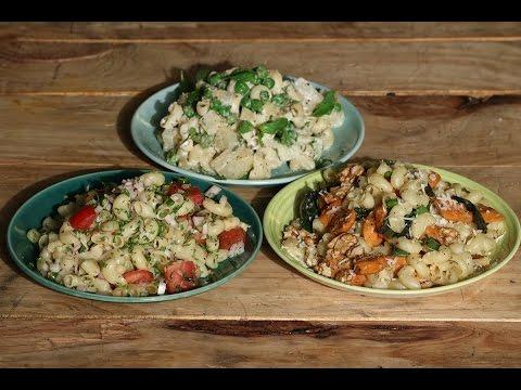 Pasta Salad - 3 Ways   Working Women's Kitchen   Chef Pallavi Nigam   Sanjeev Kapoor Khazana