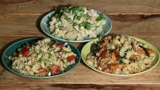 Pasta Salad - 3 Ways  | Working Women's Kitchen | Chef Pallavi Nigam | Sanjeev Kapoor Khazana