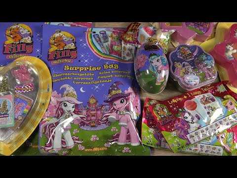 FILLY SURPRISE Eggs & Party Bags | Mega Tattoo | Witchy Toys | MEGA Unboxing