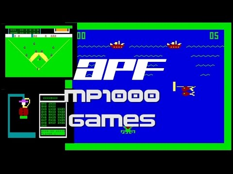 APF MP1000 - All Games - (1978) - gameplay HD
