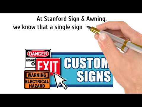 Stanford Sign & Awning Inc. - Sign Shop in San Diego