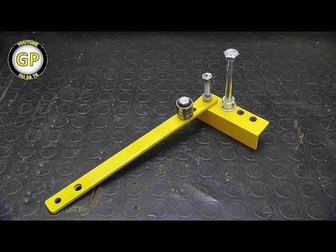 Make a Simple Metal Bender - Diy Tools