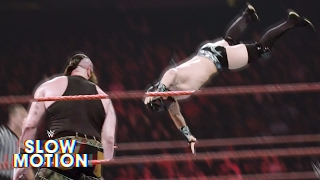 Brutal slow-motion video of Raw's first-ever Dumpster Match: Exclusive, April 25, 2017 thumbnail