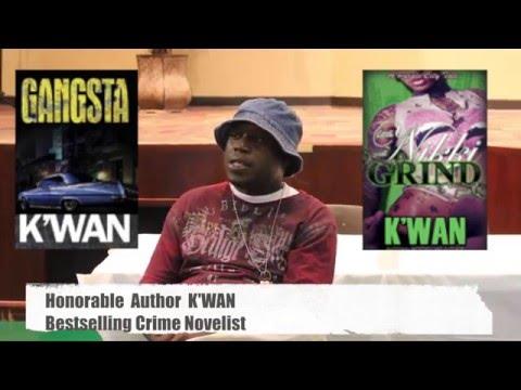 K'WAN The Crime Novelist Author Film Producer: S. Amun LinZy I