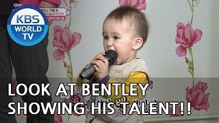 Look at Bentley showing his talent [The Return of Superman/2019.05.12]