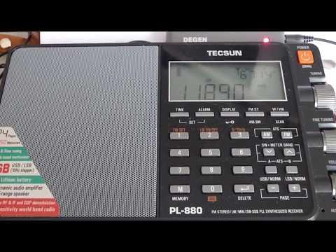 11890 kHz - RFE/RADIO LIBERTY (Turkmen)