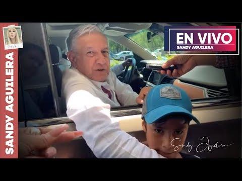 Llegando a Oaxaca con AMLO (Así recibieron al presidente)