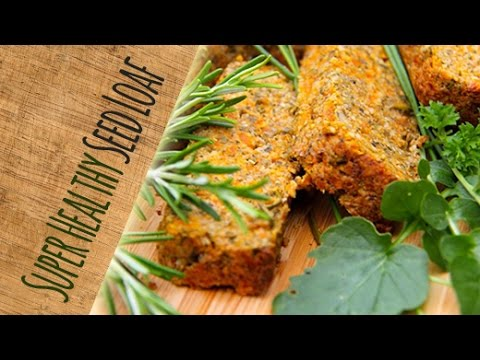 Gluten-free Seed Roast Loaf - absolutely delicious (vegan) - YouTube