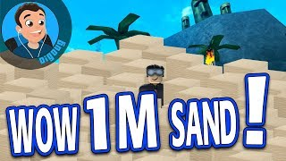 I'm rebirthing Again with 1 Million Sand in Roblox Treasure Hunt Simulator!