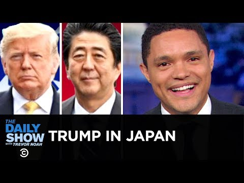 Trump Heads to Japan, But His Heart Is Still with Kim Jong-un | The Daily Show