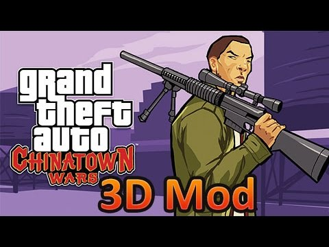 GTA Chinatown Wars 3D Mod (Мод) PPSSPP