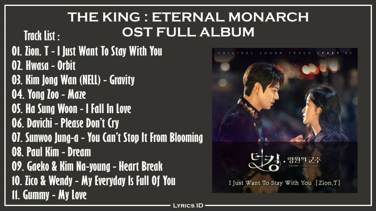 Download The King : Eternal Monarch OST Part.1~11 Full Album