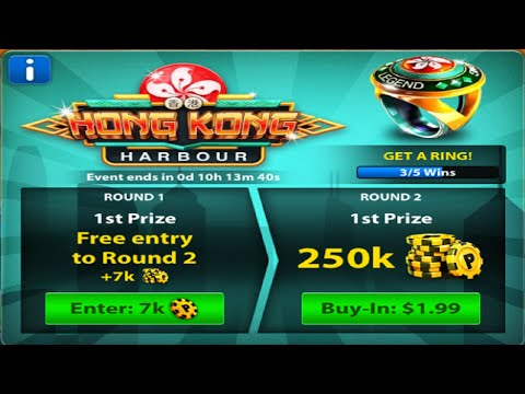 8 Ball Pool - Hong Kong Tourney