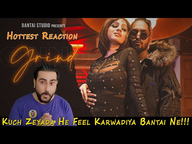 Pakistani Reacts to EMIWAY - GRIND (PROD. FLAMBOY) (OFFICIAL MUSIC VIDEO) | IAmFawad