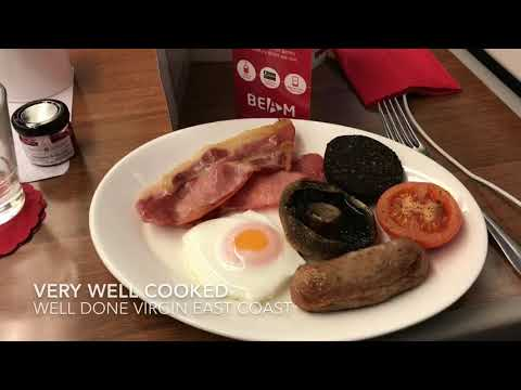 First Class Trip Report on Virgin Trains East Coast from Stirling to London Kings Cross